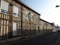 Maison des Arquebusiers -  Vitry-le-François (51300 - FRANCE): photographies  Vitry-le-François (51300 - FRANCE): rue de l'Arquebuse
