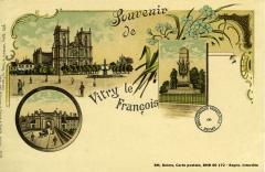 Porte du Pont - Français:   carte postale de Vitry le François à la Bibliothèque Municipale de REims cote 60-172 .