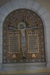 Eglise -  Monument_aux_morts dans l'église.