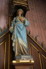 Eglise -  Prompse, soeur de Gibrien évangélisatrice de la CHampagne.