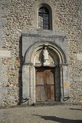 Eglise - Deutsch: Kirche Saint-Laurent de Vraux in Vraux im Département Marne (Champagne-Ardenne/Frankreich)