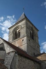 Eglise - Deutsch: Kirche Saint-Laurent in Vraux im Département Marne (Champagne-Ardenne/Frankreich)