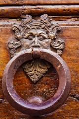 """Enceinte protohistorique dite """"Camp des Louvières"""" - Italiano: Uno dei numerosi antichi battenti presenti nelle porte del centro storico di Terni (1500 circa)"""