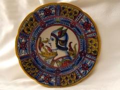 "Enceinte protohistorique dite ""Camp des Louvières"" -  Traditional ceramic dish from Umbria"