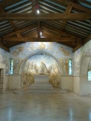 Chapelle Notre-Dame-de-la-Paix - English: Chapelle Foujita: chapel build in Rheims and orned by Foujita.