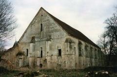 Abbaye de Longuay - Français:   Bâtiment des convers de l\'abbaye de Longuay (Haute-Marne)