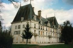 Abbaye de Longuay - Français:   Château de Longuay construit sur un ancien bâtiment de l\'abbaye