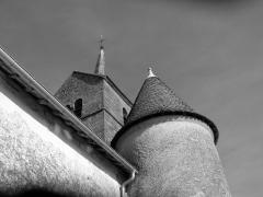 Eglise de Villars-Saint-Marcellin -  Tourelle de l'église de Villars-Saint-Marcellin