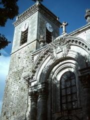 Eglise Notre-Dame - Français:   Église du haut de Bourmont (521?0, France)