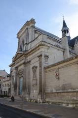 Collège - Français:   La chapelle des jésuites à Chaumont, Haute-Marne, Champagne-Ardennes, France