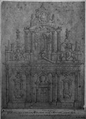 Collège - Français:   un dessin conservé aux archives départementales de la haute marne.