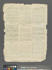 Chapelle de Trestondans (sacristie de l'église) , à Montormentier - English:  [Flowers] Statement of responsibility: words by W.E. Browning; music by James B. Mullen.