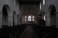 Eglise - Deutsch: Katholische Kirche Notre-Dame-de-l'Assomption in Droyes im Département Haute-Marne (Champagne-Ardenne/Frankreich), Innenraum