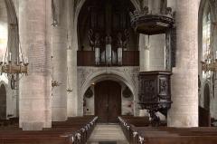 Eglise Saint-Laurent d'Eclaron - English: The organ of the church of Éclaron.