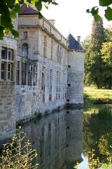 Château du Pailly -  La façade nord du Château du Pailly, en Haute-Marne