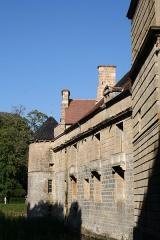 Château du Pailly -  La façade ouest du Château du Pailly, en Haute-Marne