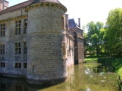 Château du Pailly -  Les douves du château du Pailly