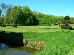 Château du Pailly -  Vue du parc du château du Pailly
