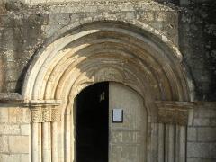 Eglise - Portail de l'église d'Isomes