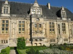 Château du Grand-Jardin et son parc -  Château du Grand Jardin, façade est. Joinville, Haute-Marne, France.