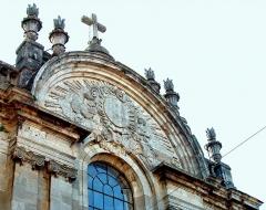 Collège Diderot -  Langres - Collège des Jésuites - Fronton de la chapelle