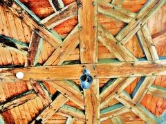 Maison Renaissance - Français:   Charpente de la tourelle de la maison renaissance