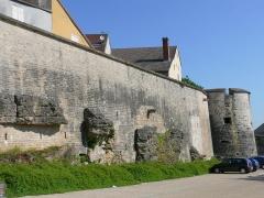 Remparts -  Remparts de Langres côté est