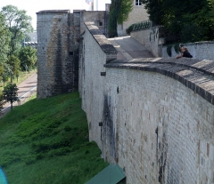 Remparts - English: Langres, FRANCE