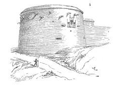 Tours de Navarre et d'Orval faisant partie de l'ancienne enceinte -