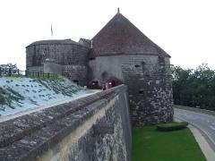Tours de Navarre et d'Orval faisant partie de l'ancienne enceinte - English: Tower of Navarre and Orval, Langres, FRANCE