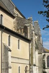 Eglise - Deutsch: Katholische Pfarrkirche Saint-Rémy, ehemalige Abteikirche der Abtei Montier-en-Der in Montier-en-Der im Département Haute-Marne (Champagne-Ardenne/Frankreich)