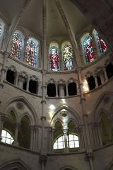 Eglise - Deutsch: Katholische Pfarrkirche Saint-Rémy, ehemalige Abteikirche der Abtei Montier-en-Der in Montier-en-Der im Département Haute-Marne (Champagne-Ardenne/Frankreich), Chor