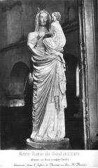 Eglise - Statue de la Vierge provenant de l'abbaye de Boulancourt, maintenant conservée en l'église de Montier-en-Der.