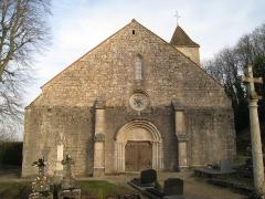 Eglise - Français:   église de Montsaugeon
