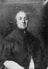 Abbaye de Morimond (ruines) - English: Portrait of Antoine Chautan de Vercly (1738-1823), last abbot of Morimond.