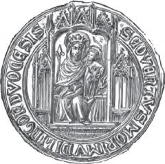Abbaye de Morimond (ruines) -  Sceau de l'abbaye de Morimond