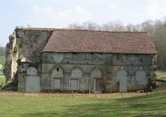 Abbaye de Morimond (ruines) -  Morimond Vestige de la bibliothéque en 2007