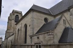 Eglise Notre-Dame -  Saint Dizier. Eglise Notre-Dame de l'Assomption, rue Emile Giros. Vue arrière.  Inscription aux monuments historiques en 1990.