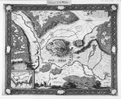 Ancienne cité de la Mothe (également sur commune de Outremécourt) -  Plan de la ville et siège de la Mothe en Lorraine par l'armée du roy tres chrestien Louis 14 commandée par Mr le Marquis de Villeroy en l'année 1645 / par le Sr de Beaulieu