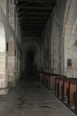 Eglise - English:  South collateral nave.