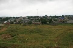 Croix dite de la Périère - English: A rural settlement in the Urals.