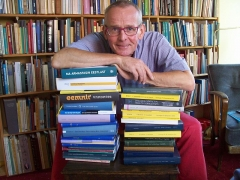 Eglise Notre-Dame - English: Cornelius Hasselblatt and his books in 2016