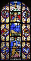Eglise - Nederlands: Dancevoir (departement Haute-Marne, Frankrijk): Sint-Petrus-Bandenkerk - brandglasraam