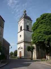 Eglise - Français:   Clocher de l\'église de Dancevoir (Haute-Marne)