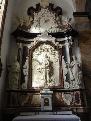 Eglise Saint-Martin - Doulaincourt, église Saint-Martin, retable de la Vierge,