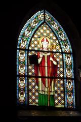 Eglise Saint-Pierre-Saint-Paul - Deutsch: Bleiglasfenster in der Kirche Saints-Pierre-et-Paul in Rimaucourt, Darstellung: Heiliger (welcher?)
