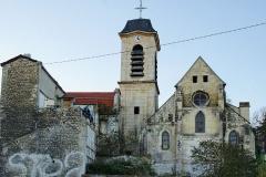 Eglise Saint-Denys -  Eglise Saint Denys situé à  Arcueil (94) date du 12 eme siècle.