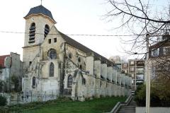 Eglise Saint-Denys -  Dédiée à Saint Denys, apôtre des Gaules, l'église, du premier art gothique, date du XIIe siècle. Après de nombreux travaux, souvent désastreux au XIXe, elle est aujourd'hui réhabilitée et classée monument historique.