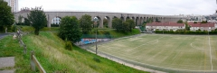 Aqueduc gallo-romain (restes) - English: the 3rd Arceuil aqueduct completed in 1900