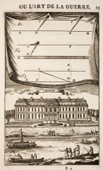 Ancien Château royal, annexe de la mairie - French cartographer and engineer